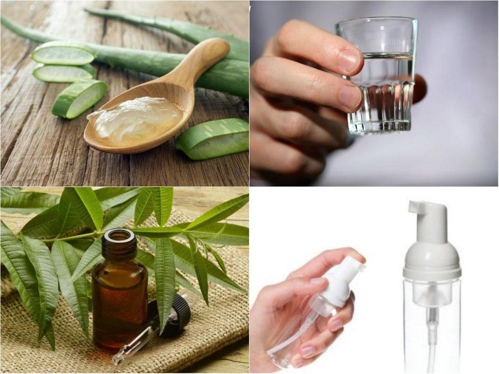 Cách làm tinh dầu nha đam